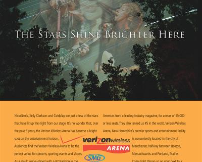 Verizon Wireless Arena – Stars Print