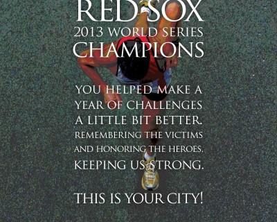 Sullivan Tire Red Sox Print Ad
