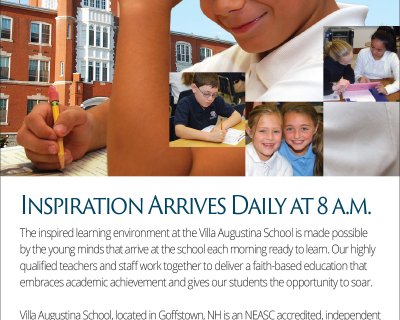Villa Augustina School Print Ad