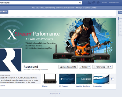 Russound Facebook Page