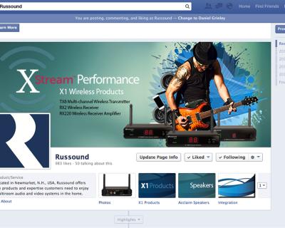 Russound Facebook Page