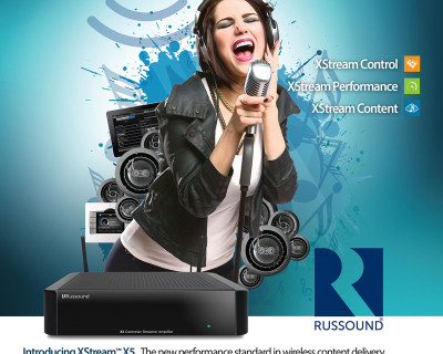 Russound XStream™ Print Ad