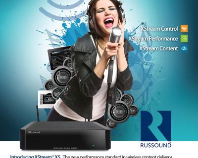 Russound XStream™ Print Ad