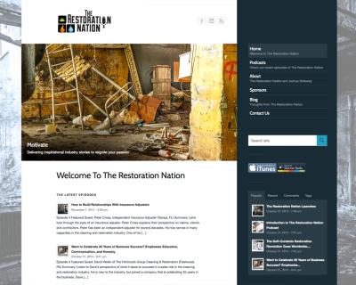 The Restoration Nation Website