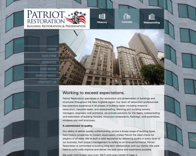 Patriot Restoration Website Launches