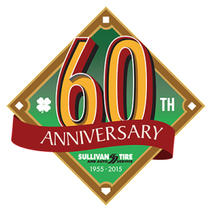 Grinley Creative completes logo design for Sullivan Tire's 60th Annivesary