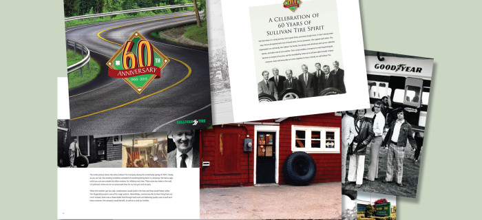 Grinley Creative Completes Book for Sullivan Tire
