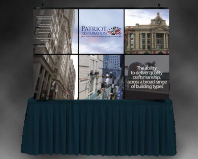Patriot Restoration Trade Show Display