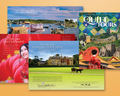 Grinley Creative completes work on 2016 catalog for Country Heritage Tours