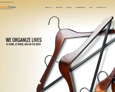 Grinley Creative launches website for Organized Creative Designs