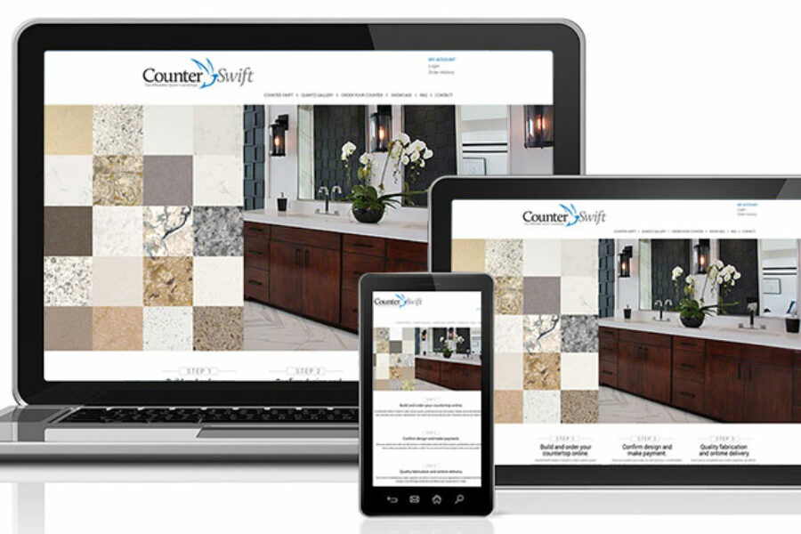 Grinley Creative completes work on Counterswift website