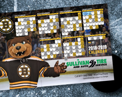 Sullivan Tire Boston Bruins Magnet