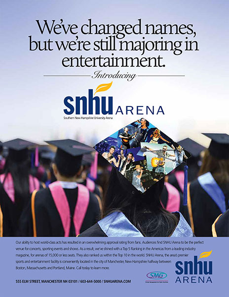 SNHU Arena-Majoring in Entertainment